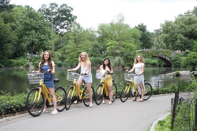 ニューヨーク市のセントラル・パークの自転車レンタル