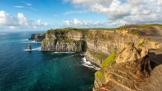 Cliffs of Moher, Burren and Galway Bay Rail Tour from Dublin