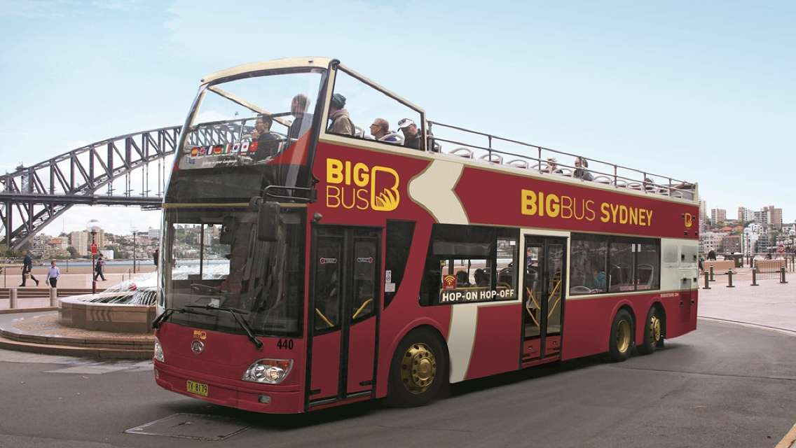Sydney Big Bus Hop-On Hop-Off Tours