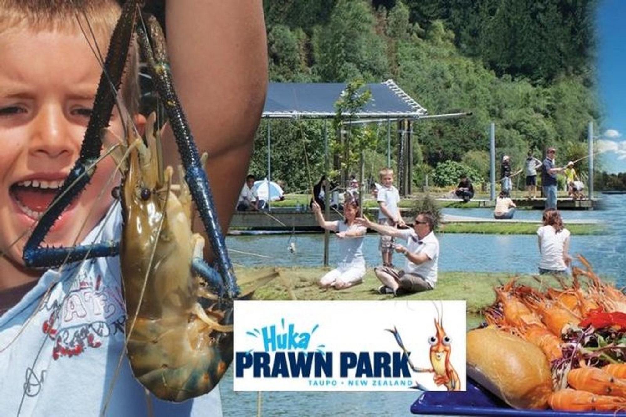 Huka Prawn Park-Lunch/Activities Combo