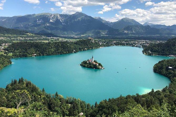 Lake Bled and Ljubljana Full-Day Tour from Koper