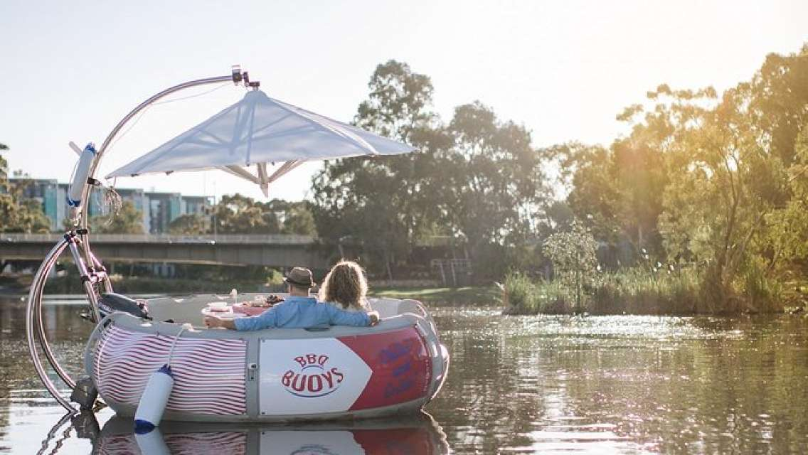 Adelaide 2-hour BBQ Boat Hire for 2 People
