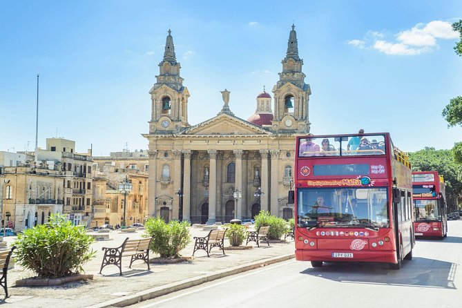 City Sightseeing Malta Island Bus Tour (Plus Optional Cruise)