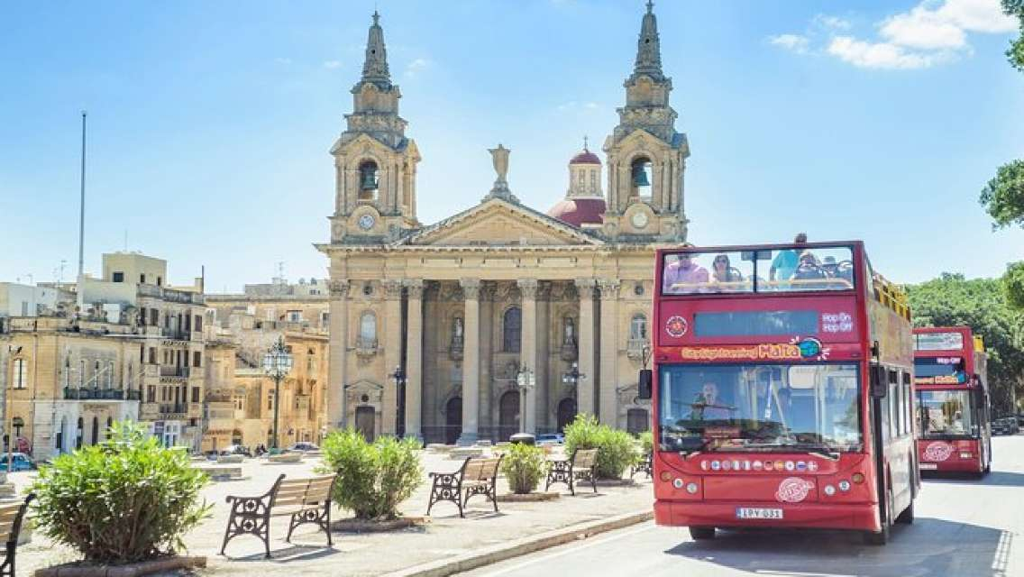 City Sightseeing Malta Island Bus Tour (Plus Optional Cruise)