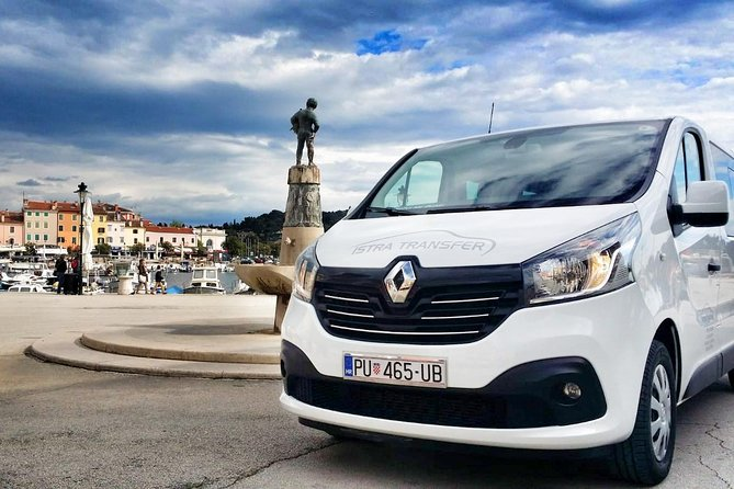 Private transfer from Porec to Pula airport