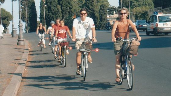Unexpected Rome e-bike tour