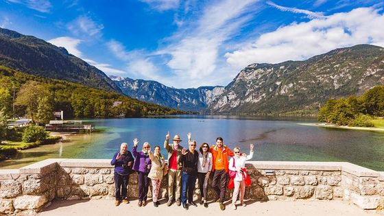 Lakes Bled & Bohinj and Vintgar Gorge Small-Group Day Trip from Ljubljana