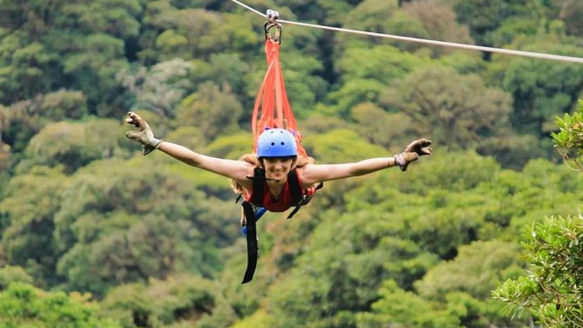 Selvatura Park Extreme Adventure Canopy Tour in Monteverde