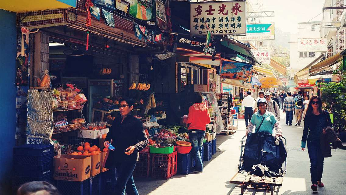 香港南丫島+榕樹灣渡輪碼頭+索罟灣一日遊(含世外桃源海鮮午餐)