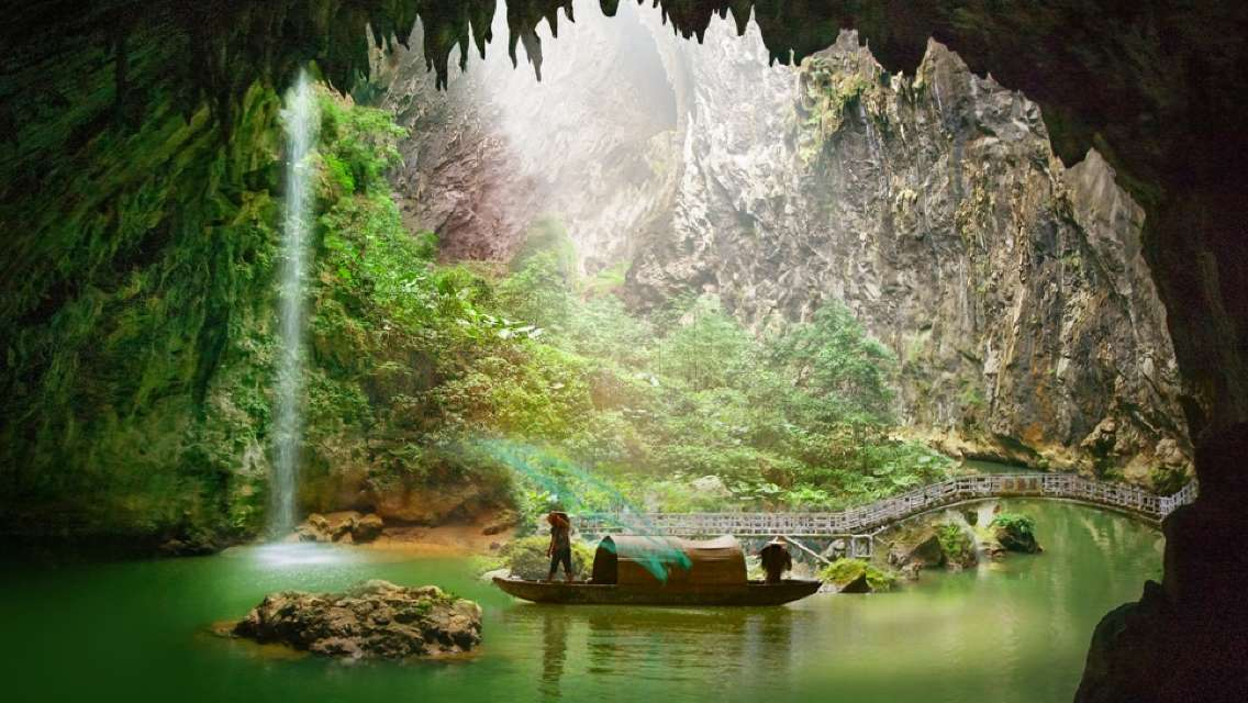 Dongtian Xianjing Caves Admission Ticket
