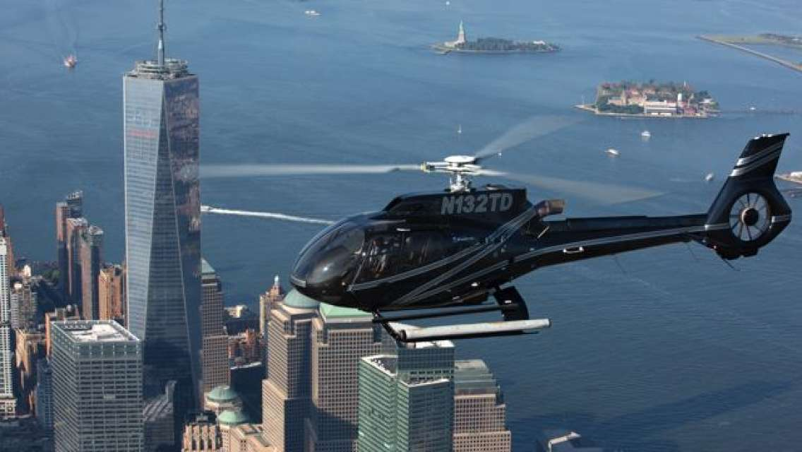 Helicopter Night Tour in Manhattan: New Jersey-New York The City Lights Experience