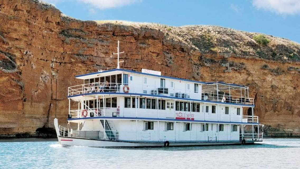 Murray River Day Trip from Adelaide Including Lunch Cruise aboard the Proud Mary