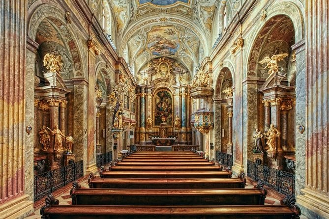 Skip the Line Concert St. Anne's Church in Vienna: Mozart,Beethoven,or Schubert