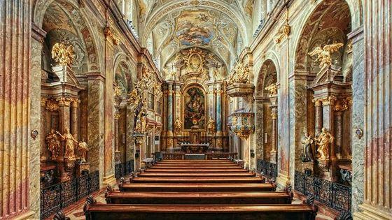 Skip the Line Concert St. Anne's Church in Vienna: Mozart,Beethoven,or Schubert