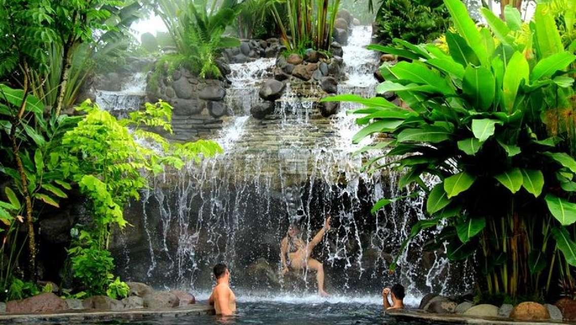 Arenal Volcano & Baldi Hot Springs From San José