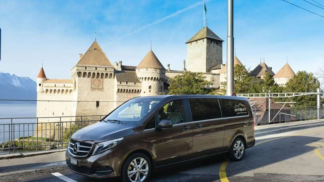 Private Arrival Transfer: from Geneva Airport to Montreux