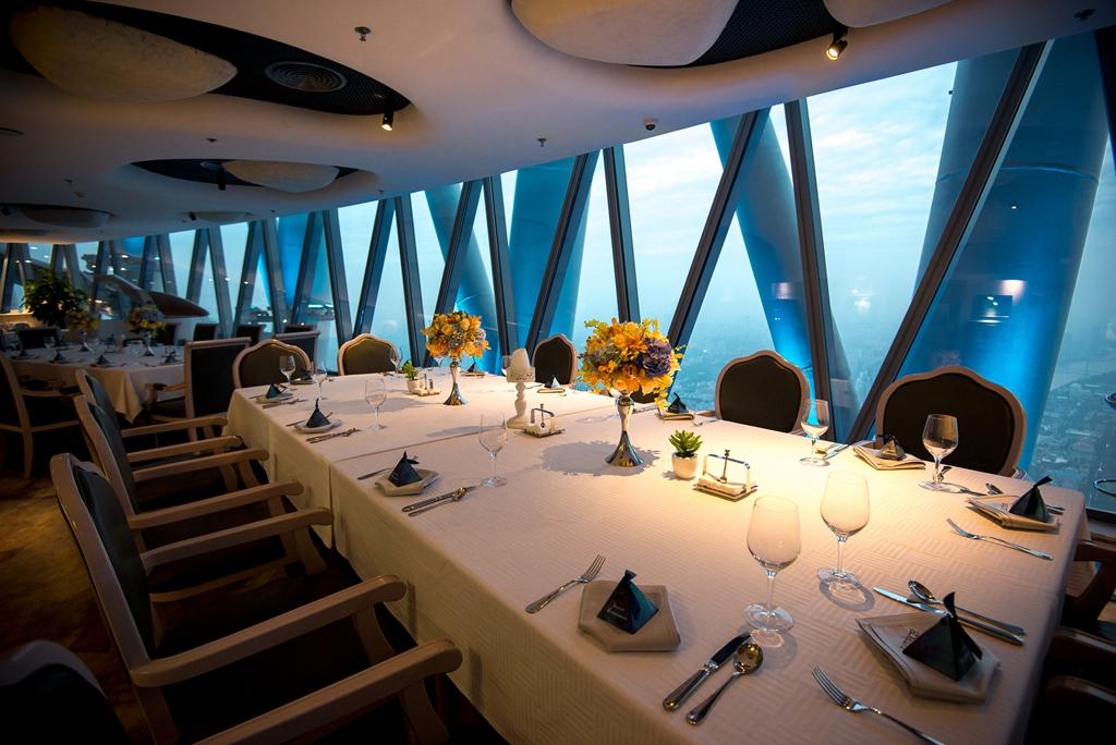 廣州塔105層盧特斯法國旋轉餐廳餐飲票