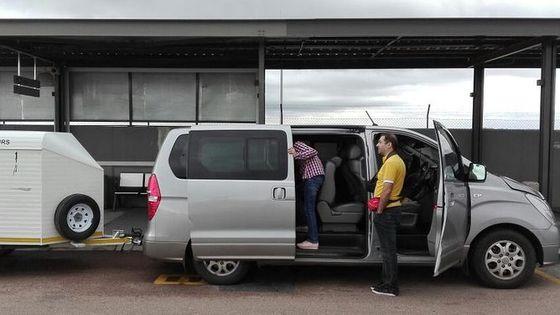 Private Minivan Shuttle: OR Tambo Airport to Johannesburg City/Sandton/Pretoria