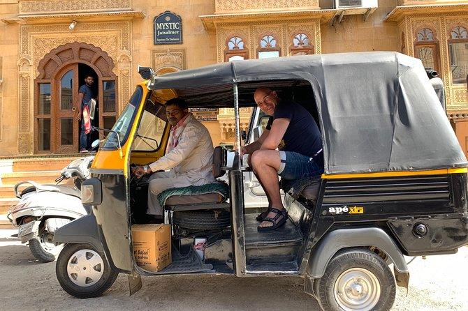 Jaisalmer Tuk-Tuk Private Full Day Tour with Pick-up