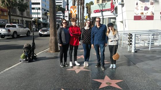 Hollywood to Beverly Hills Sightseeing Tour from Orange County
