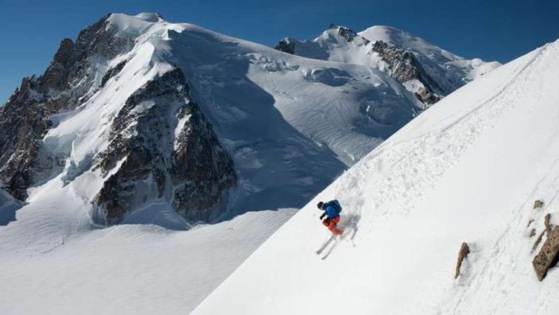 Chamonix Skiing day from Geneva