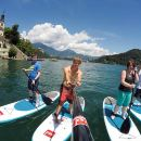Lake Bled Stand-up Paddling and Viewpoint Hike Half Day Tour from Ljubljana
