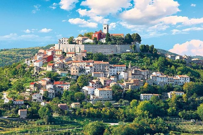 Istrian Hilltops Private Day Trip with Wine Tasting
