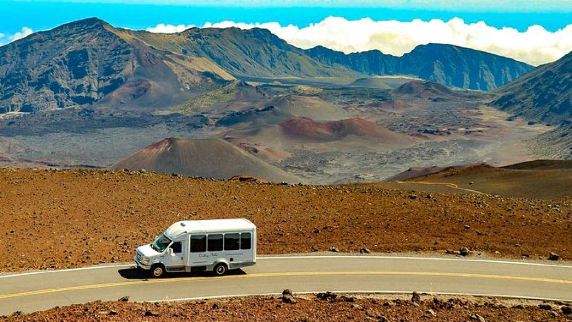 Volcanoes of Maui Tour with Pickup