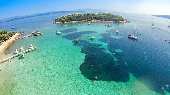 Blue Lagoon & 3 Islands Half-day Trip from Split