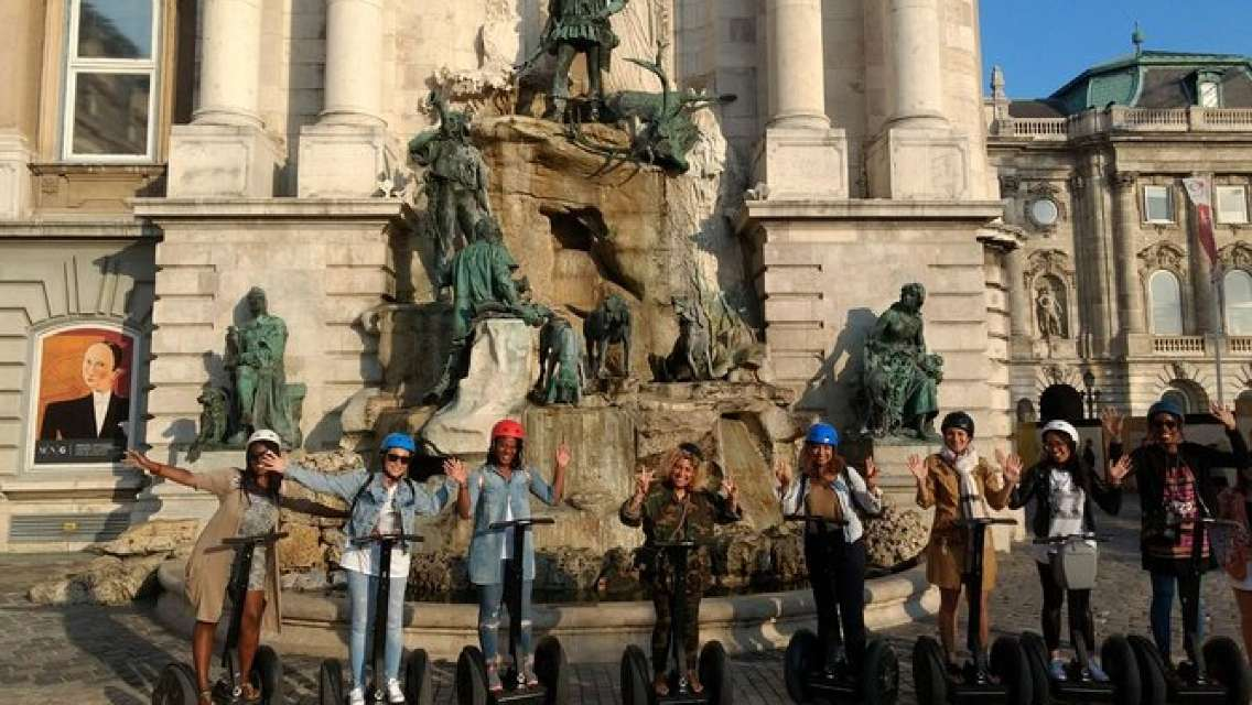 Budapest Downtown 90-Minute River Segway Tour