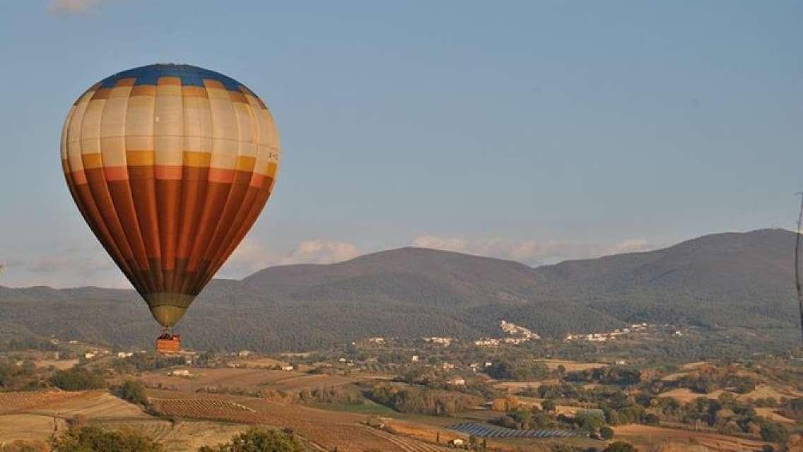 Balloon flight Rome weekend morning