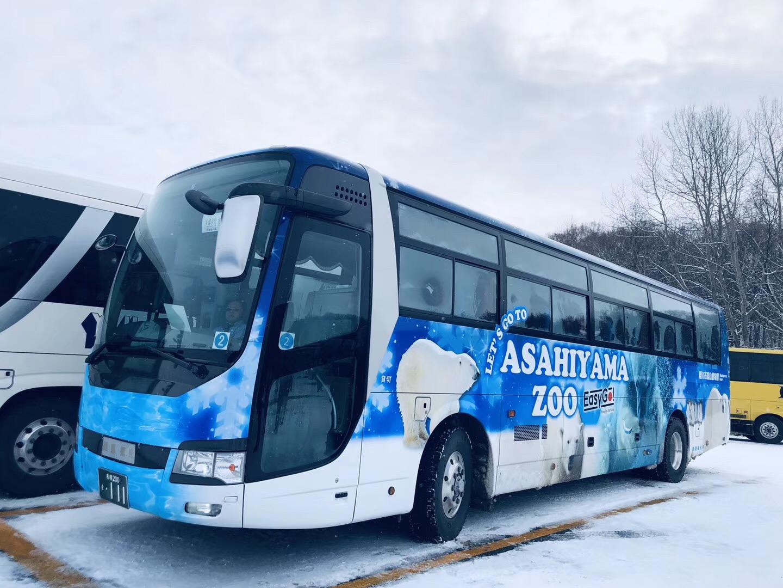 Departing from Sapporo, Hokkaido Asahiyama Zoo + Ningle Terrace + Shirahige Waterfall Day Trip