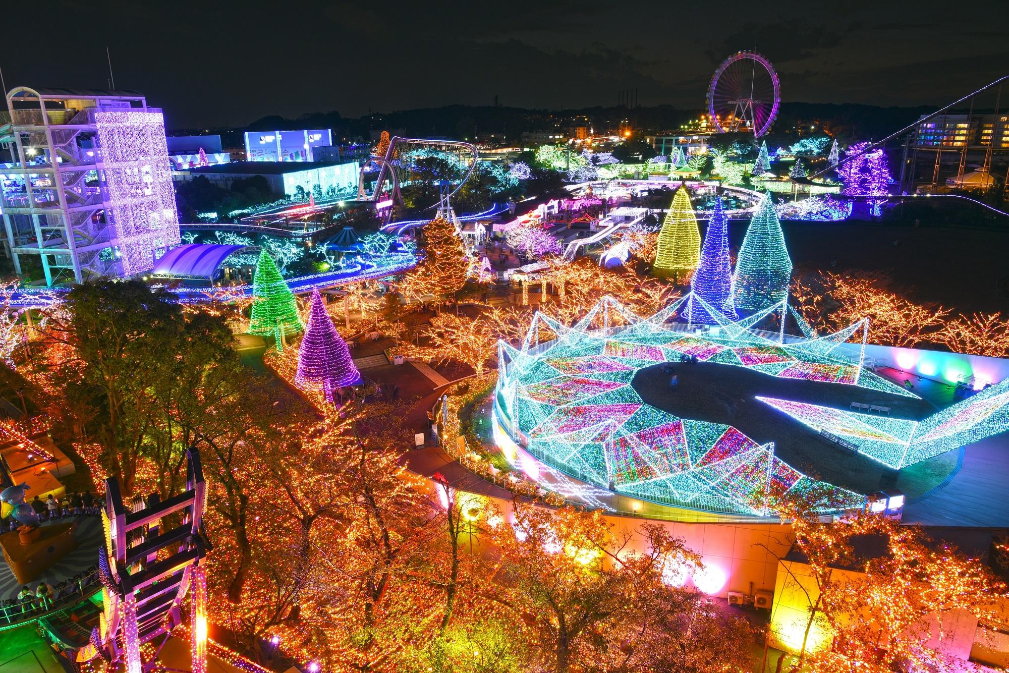 超人氣東京讀賣遊樂園 YOMIURI LAND 電子門票(官方授權 掃碼入園)