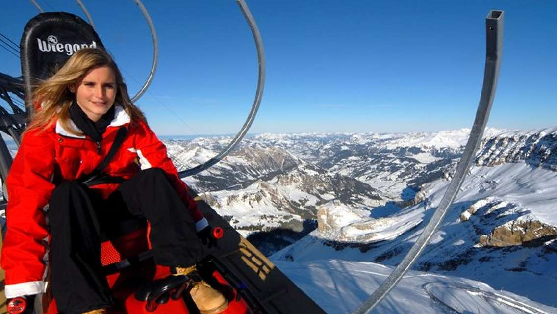 Glacier 3000 High Level Experience in the Swiss Alps from Lausanne