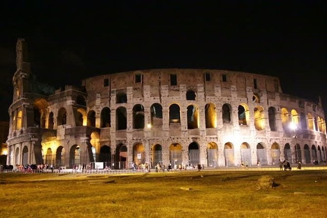 Colosseum at Night After-Hours Tour Moonlight
