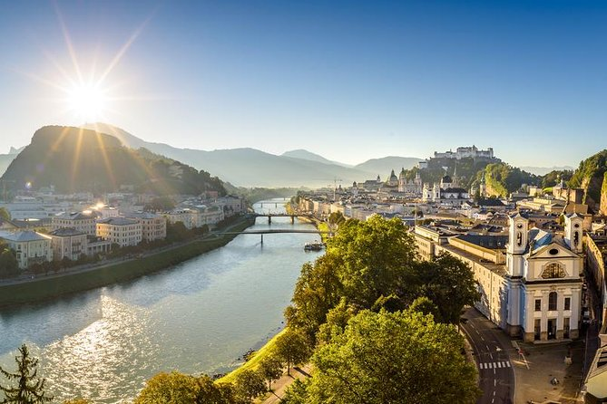Full Day Trip to Salzburg from Vienna with Salzkammergut lakes and Melk visit