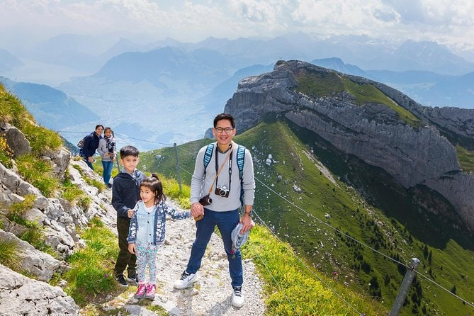 Mt Pilatus Ultimate Adventure Tour with Hiking, Rope park and Alpine Toboggan