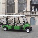 Golf Cart Around Imperial Rome
