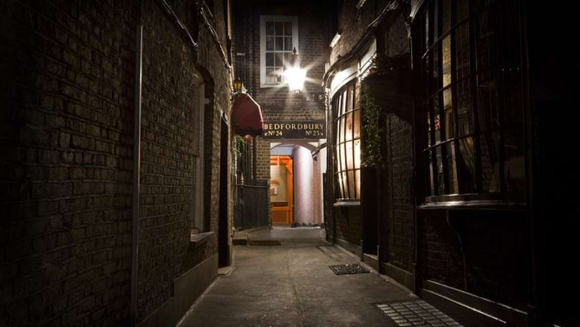 Jack the Ripper Tour with 'Ripper-Vision' in London