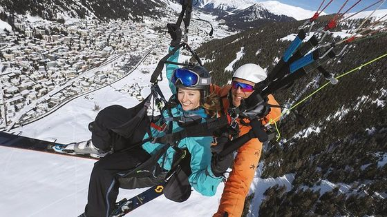 Davos Ski And Fly (Video & Photos Included)