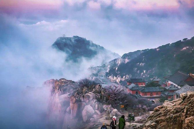 2-Day Bullet Train Trip of Qufu City Highlights and Mount Tai from Zhengzhou