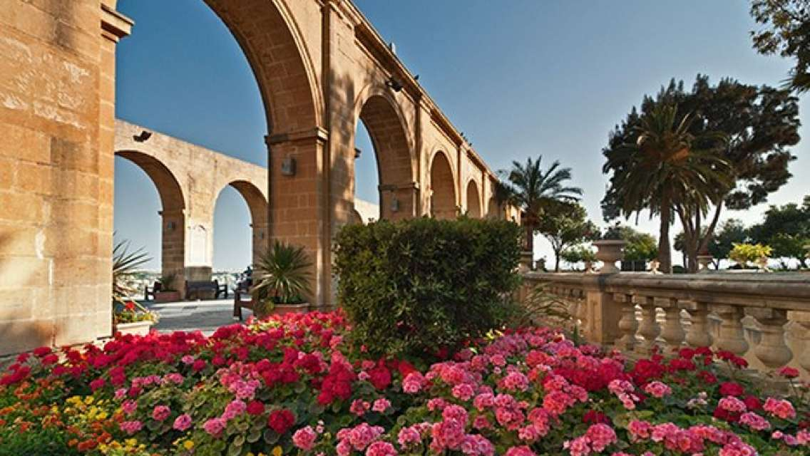 Private 4-hour Walking Tour of Valletta with official tour guide