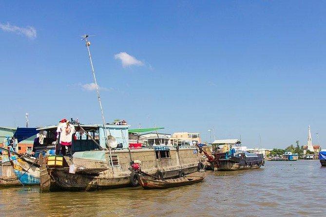 Mekong Delta - Cai Be Floating Market from Ho Chi Minh City