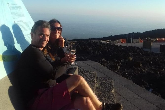 Mt Etna Sunset Private Tour with Prosecco on the Crater
