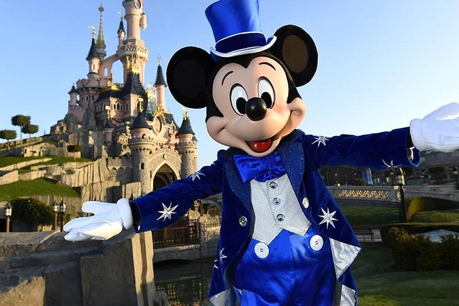 Disneyland Paris: 1 Day Ticket with Private Transport