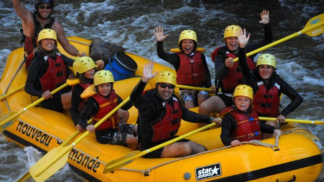 Full-Day Mont-Tremblant Rouge River Rafting Tour with Lunch