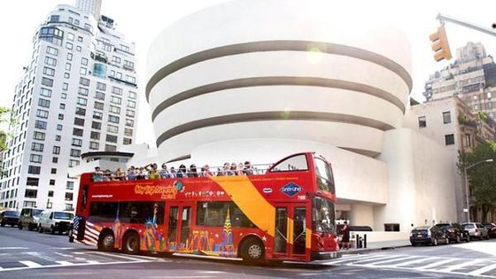 New York City FreeStyle Pass and Hop-on Hop-off Bus Tour