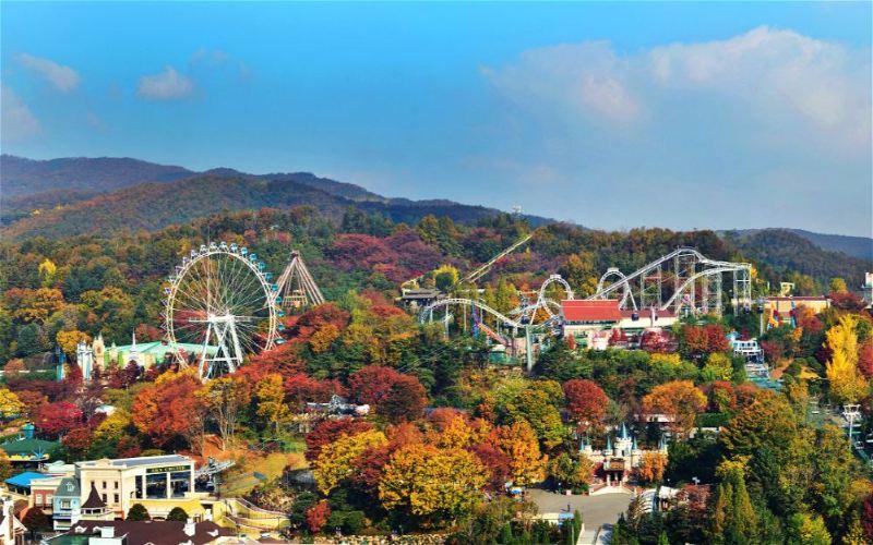 Everland Theme Park Tour