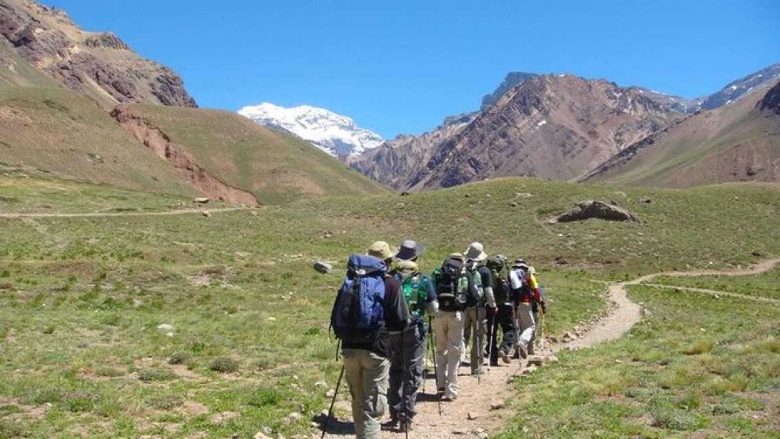 """Trekking Aconcagua """"Confluencia"""""""