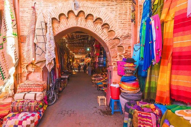 Marrakech colorful souks